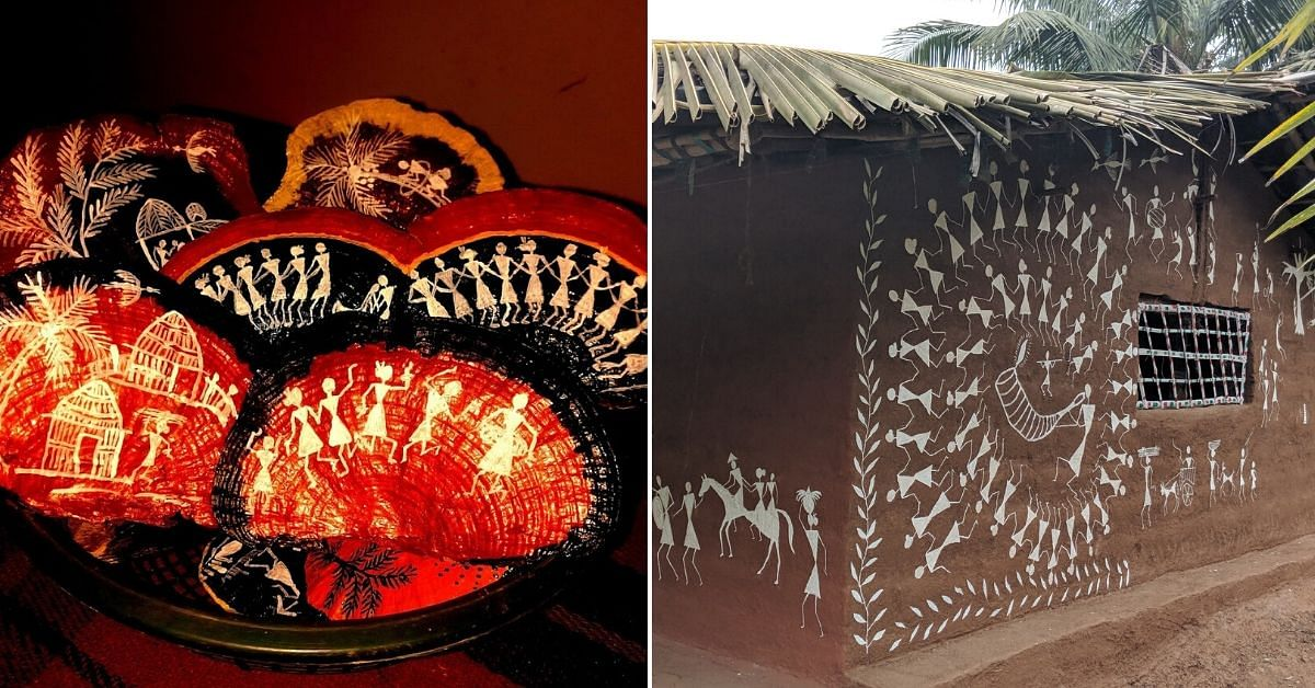 Warli Art on Dried Mushrooms? Peek Inside a Unique Tribal Hamlet in Mumbai's Aarey