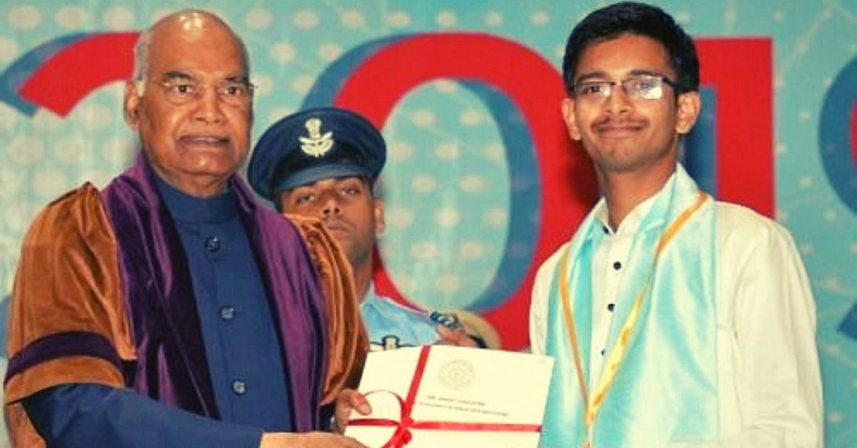 This IITian's Free School For Poor Kids Won Him the President's Gold Medal!
