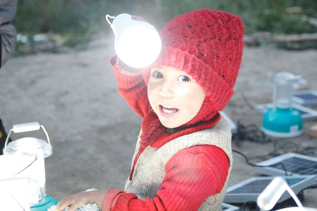 For representational purposes only. Solar can light up all of Ladakh. (Source)