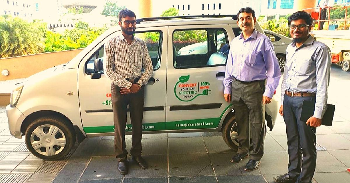 This Hyderabad Startup Can Convert Your Petrol/Diesel Vehicle Into Electric