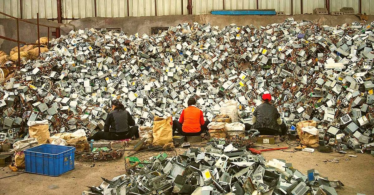 Representational Image: India has a serious e-waste problem and we need to fix it quickly. (Source: Facebook/Saahas)