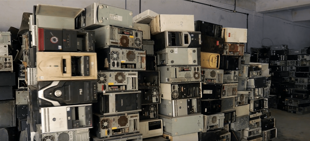 How do you formalise the collection of e-waste? (Source: Karo Sambhav)