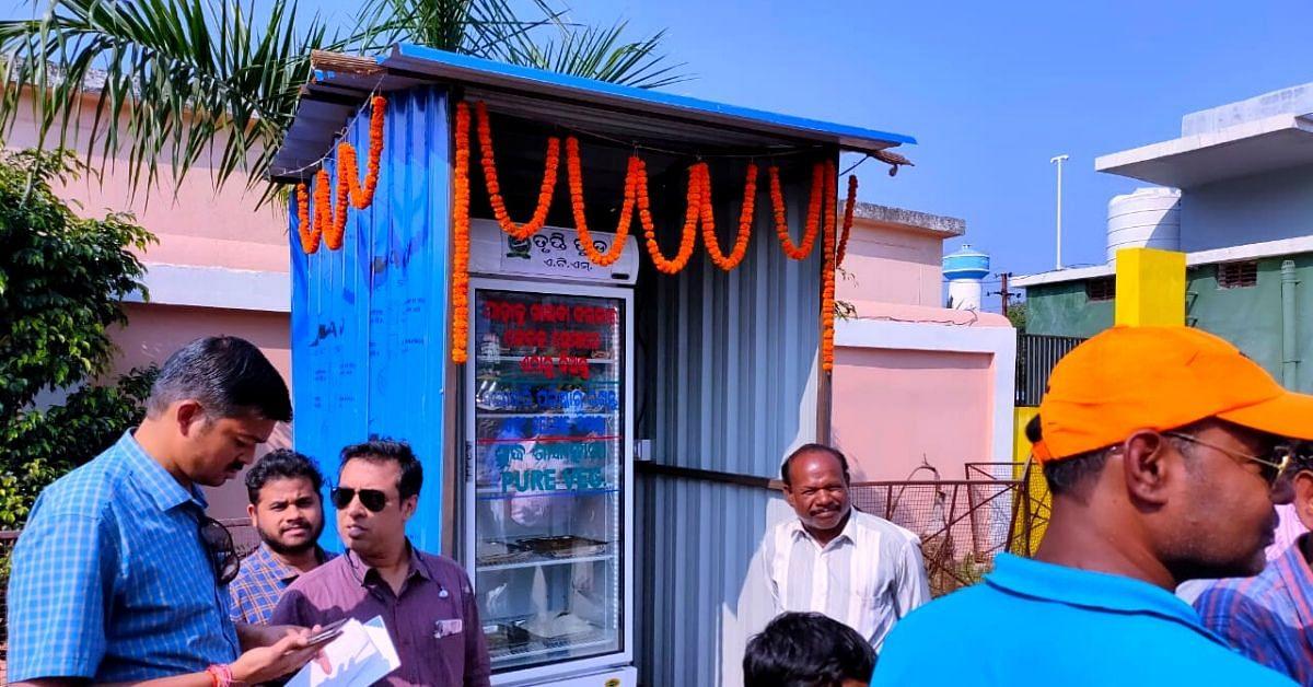 This Odisha Food ATM Gives Free Fruits, Veggies & Snacks to the Needy!