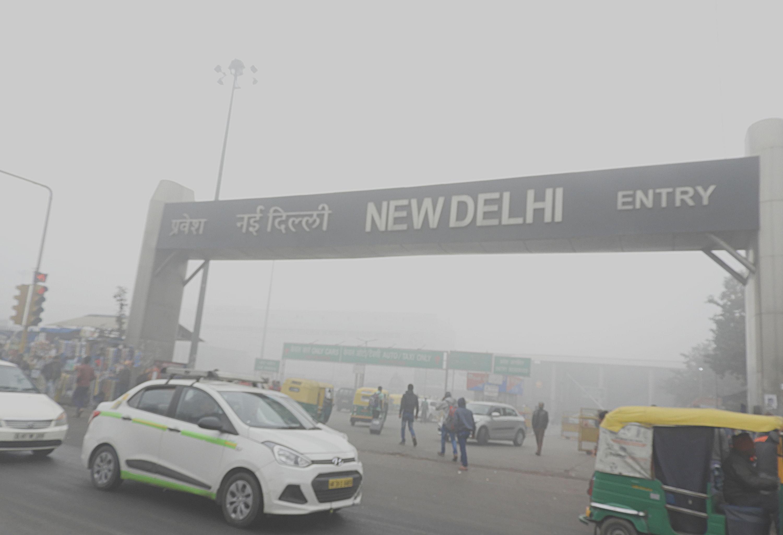 Delhi's toxic smog. (Source: Wikimedia Commons)