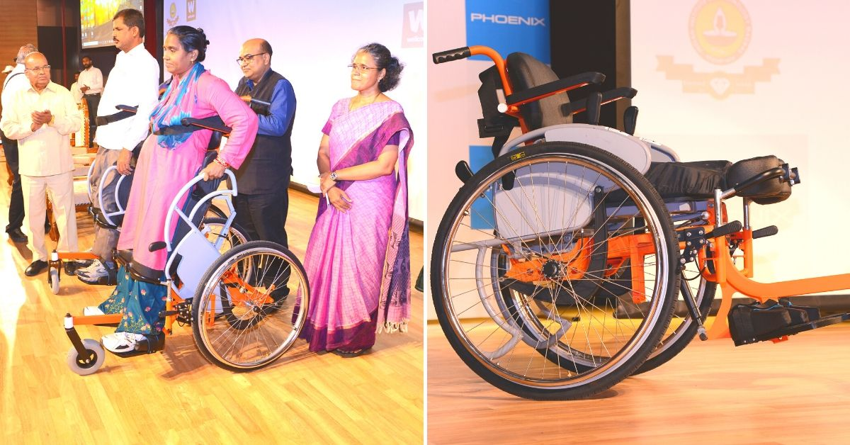 Why IIT-Madras's Affordable 'Standing Wheelchair' Can Be a Lifechanger for India's Diff-Abled