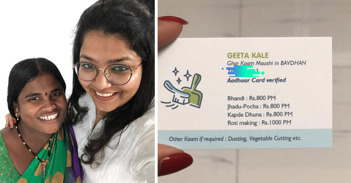 Seen the Pune Househelp's Viral Visiting Card? Here's The Story Behind It!