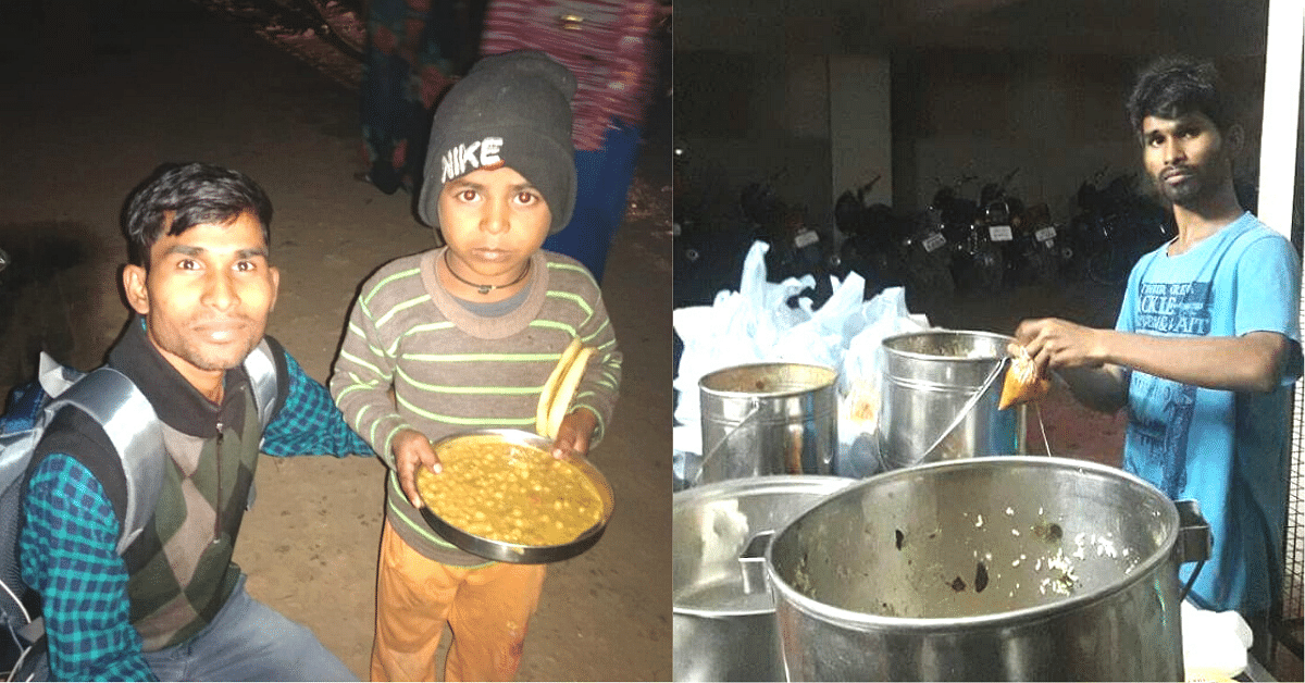 A Child Labourer at 5, Hyd Boy Feeds 2000 Hungry People for Free Every Night!