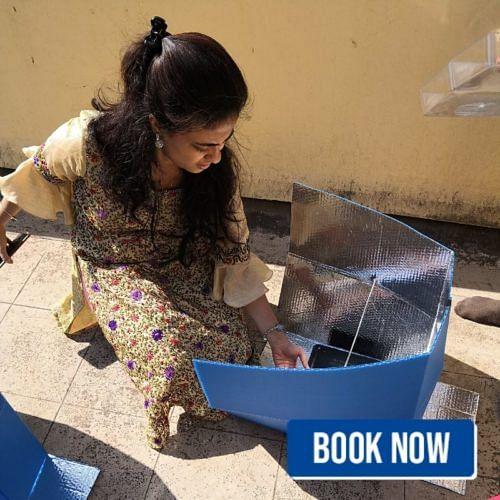 iit bengaluru solar cooker workshop