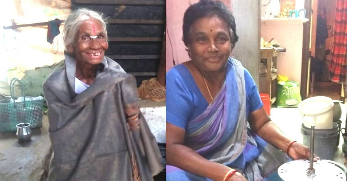 With Re. 1 Idli & Rs 2.50 Dosa, These 2 Grandmoms Have Fed Thousands of The Needy!