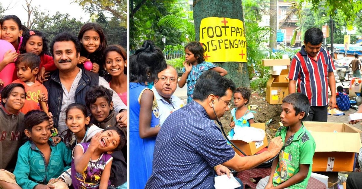 Kolkata's 'Food Man' Joins With Doctors to Open Free Dispensary For Homeless Kids