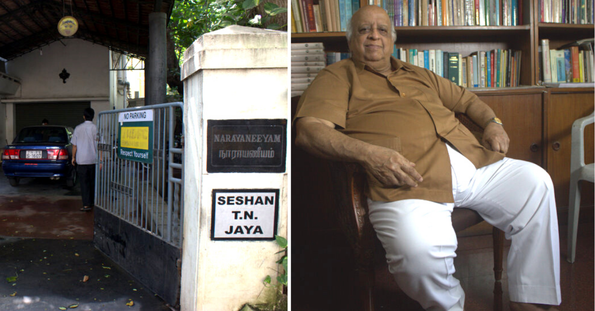 'Cherished My Attention to Integrity': What Former CEC TN Seshan Said About Himself