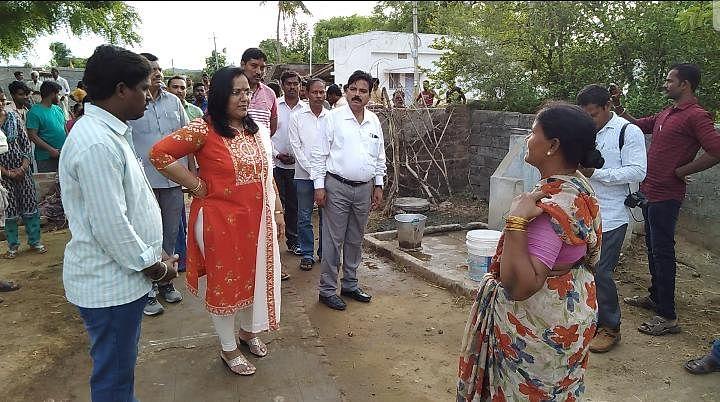 Peddapalli collector IAS