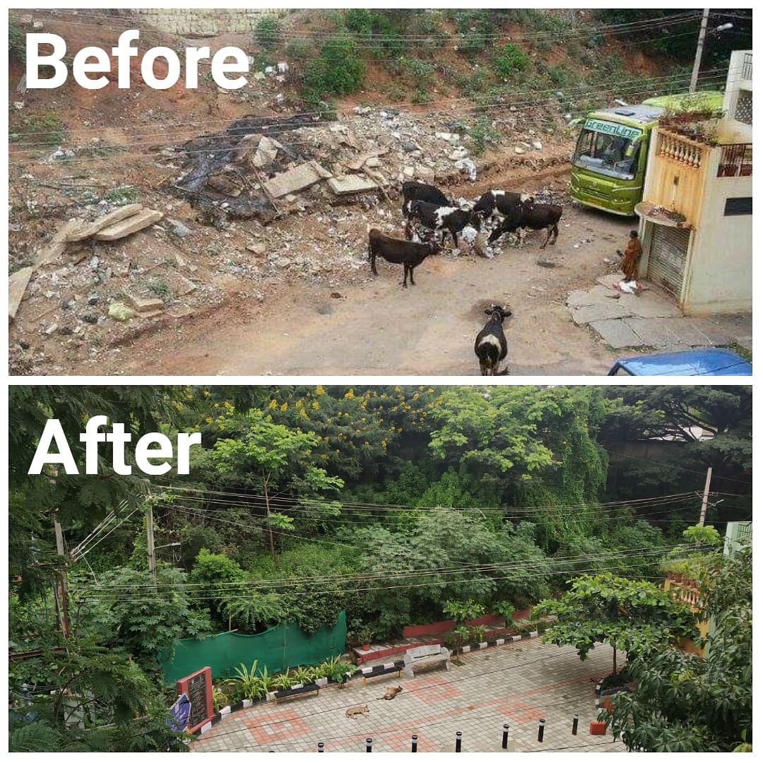 Bengaluru dump yard park