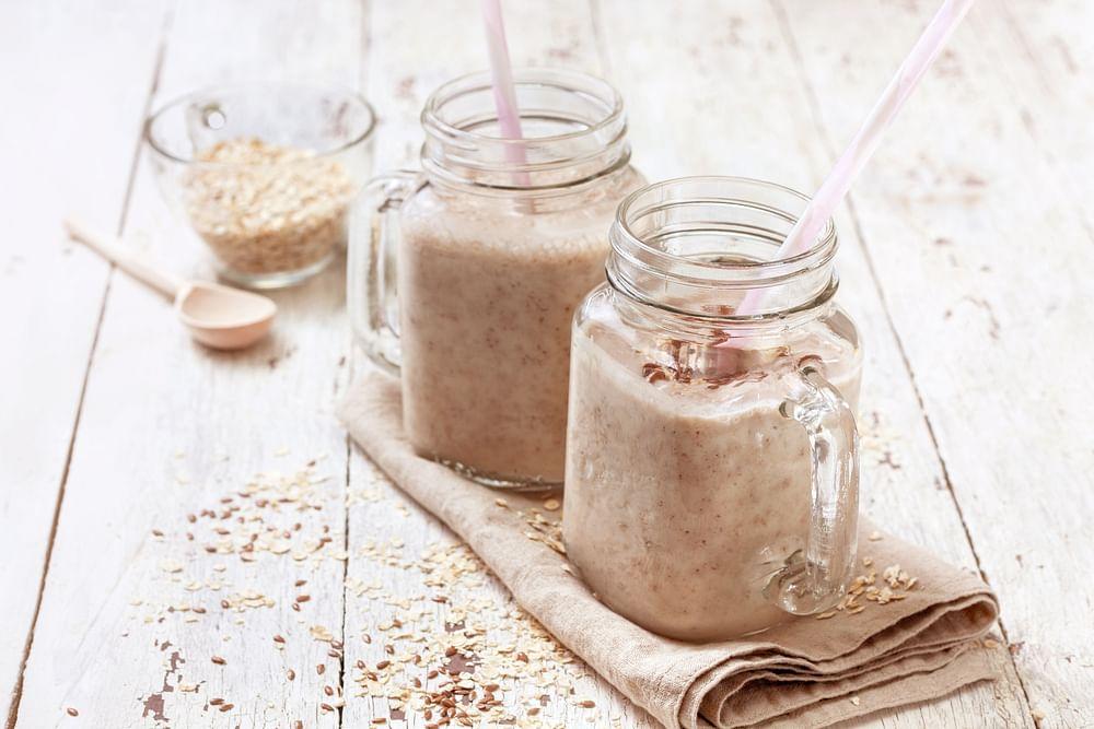 oatmeal smoothie breakfast recipe