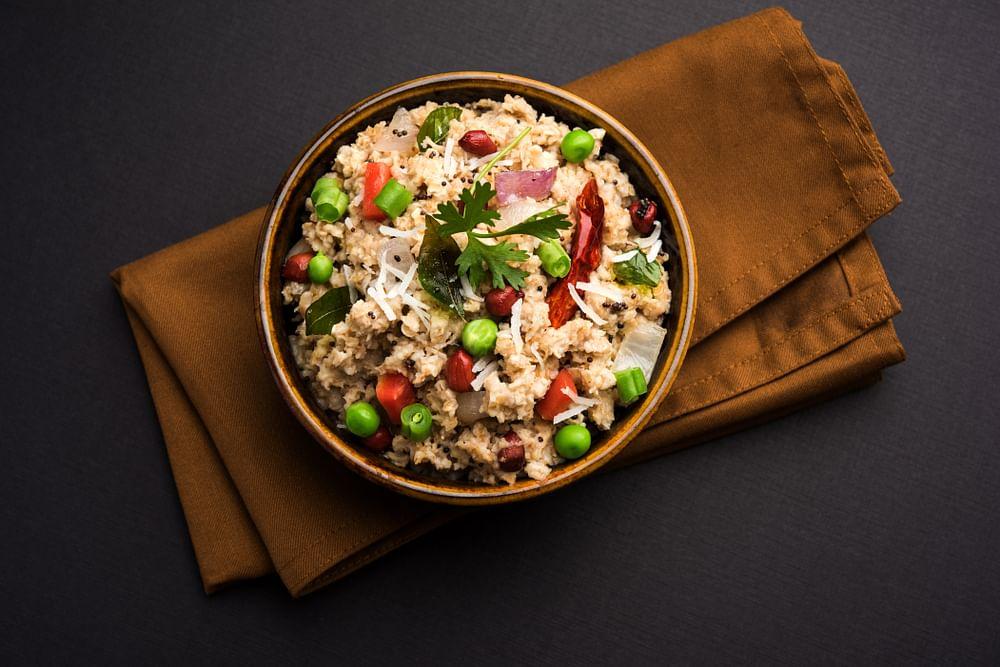 oats upma breakfast recipe