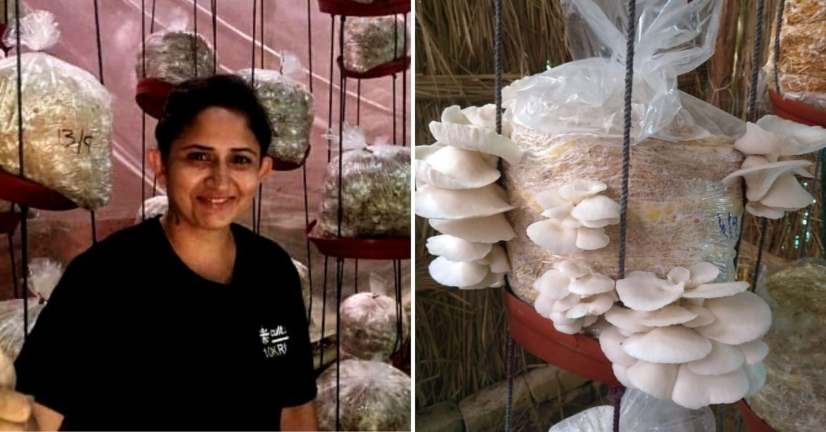 Delhi, This Lady Earns Rs 1 Lakh/Month Growing Mushrooms, and Will Teach You!