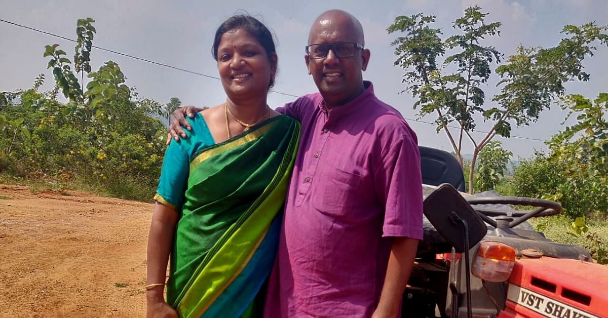 Couple Leaves US Tech Jobs, Battles Cancer to Start an Organic Farm in Hyderabad