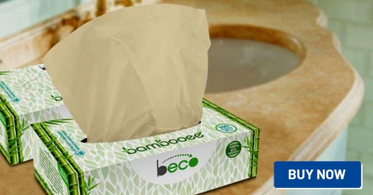zero waste party tissues