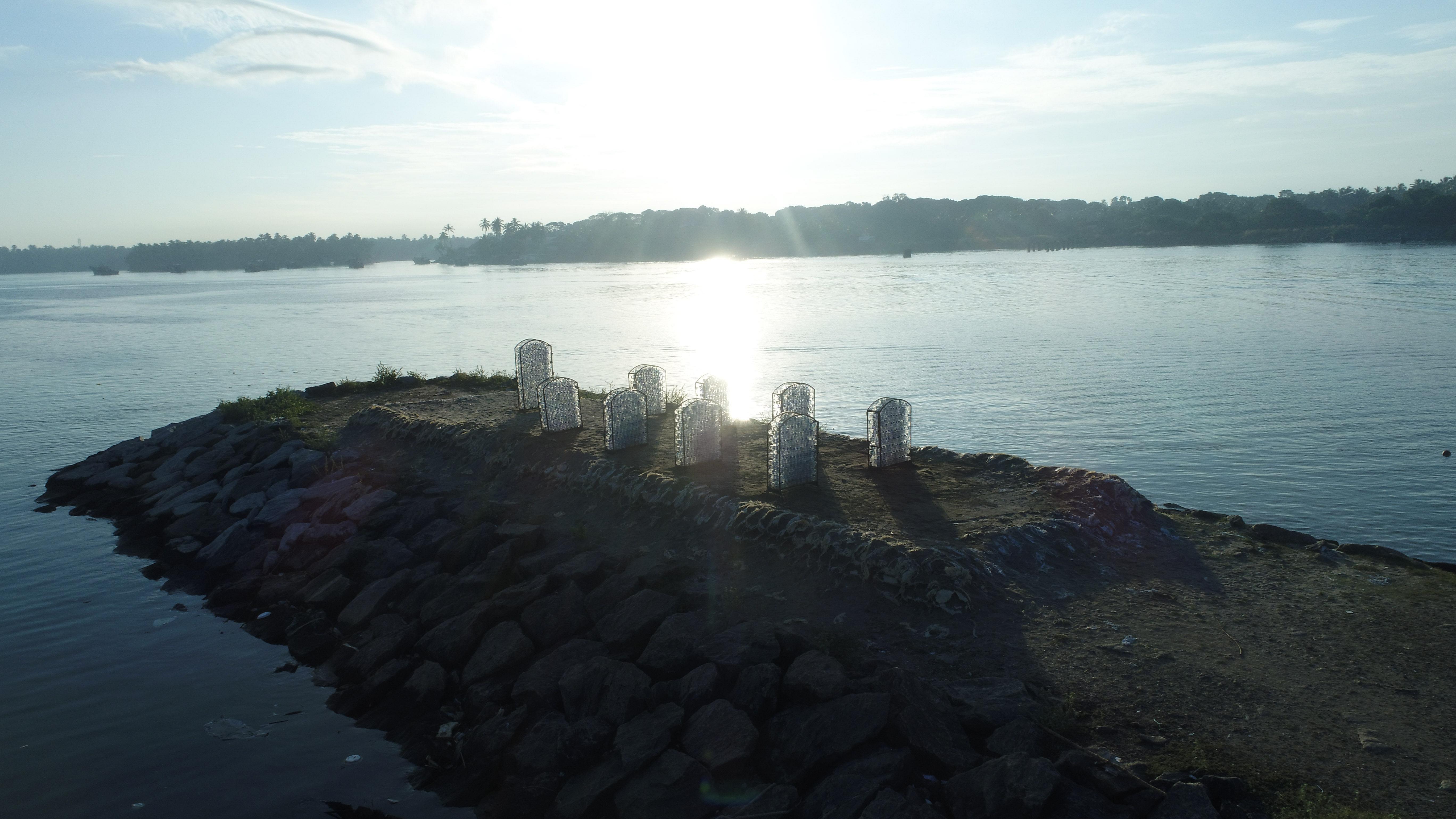 Marine cemetery