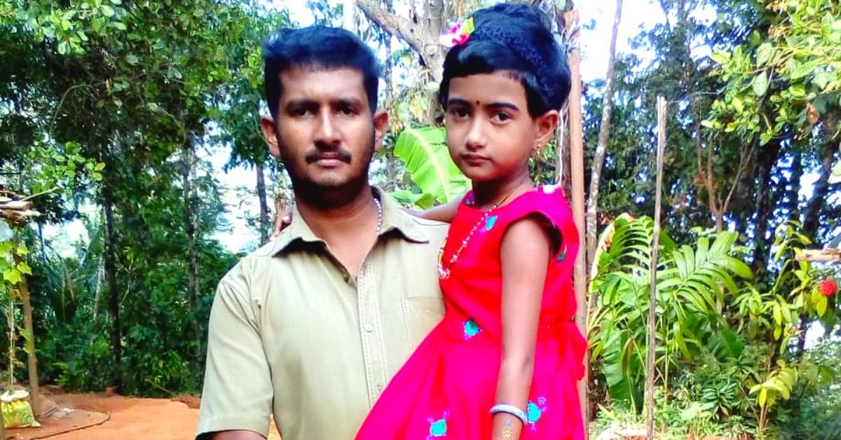 Kerala Auto Driver Treks 1 Km Daily So His Daughter With Cerebral Palsy Can Study