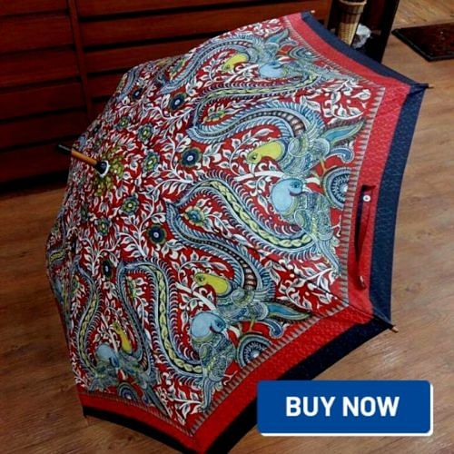 kalamkari design studio umbrella