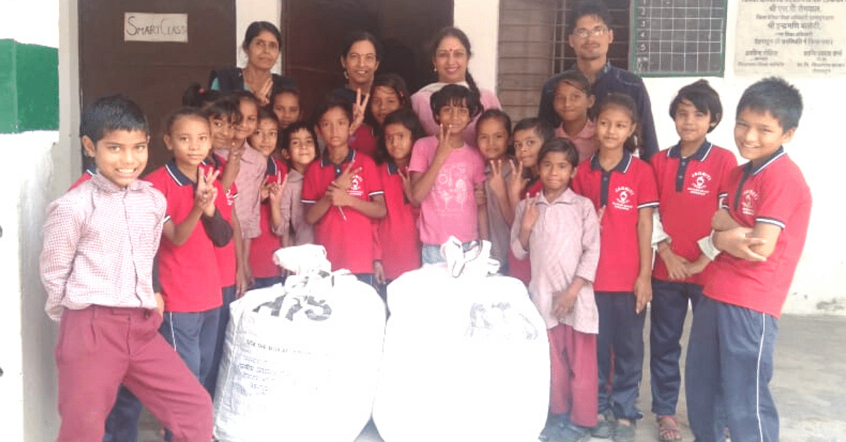 5000+ Dehradun School Kids Collect 555 Kgs of Waste For Plastic Wapsi Abhiyaan!