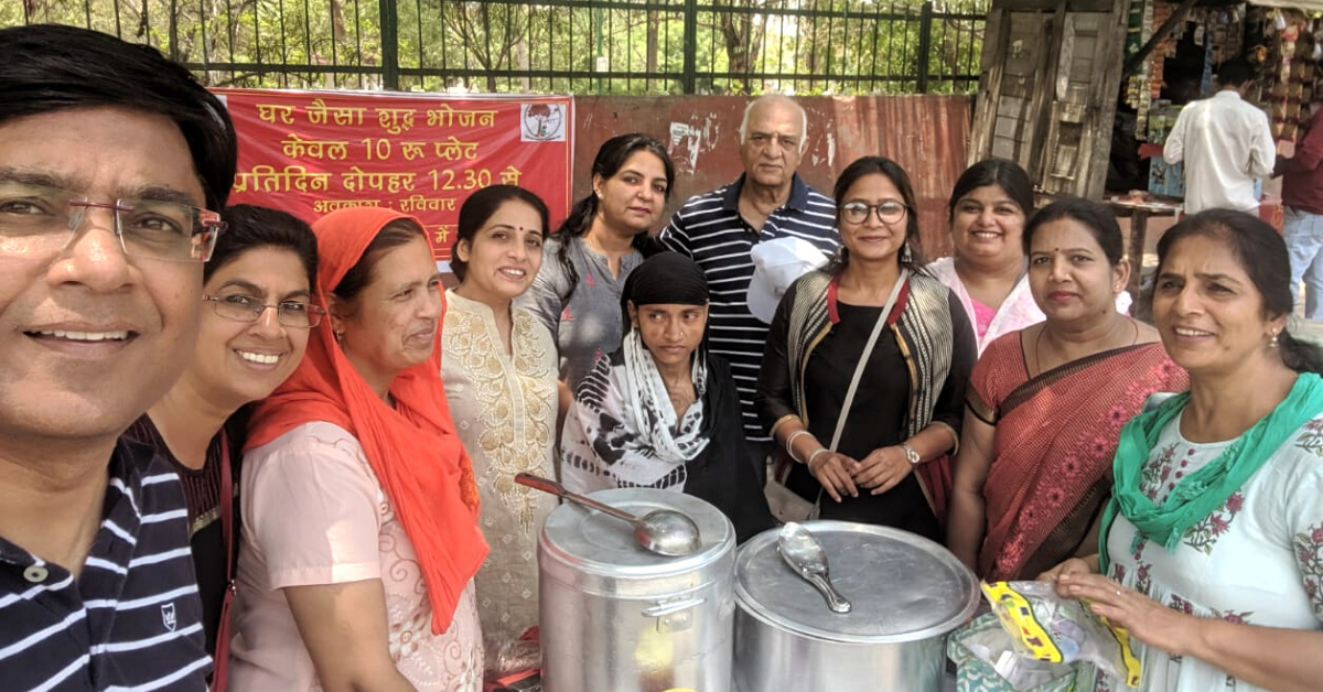 Delhi Man's Kitchen Serves Rs 10 'Plate of Happiness' to 37000+ Needy People!