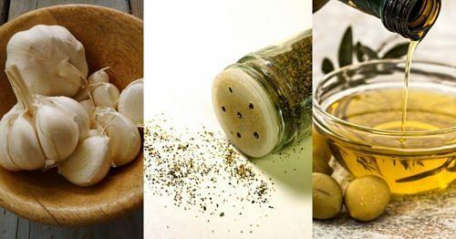 garlic pepper olive oil
