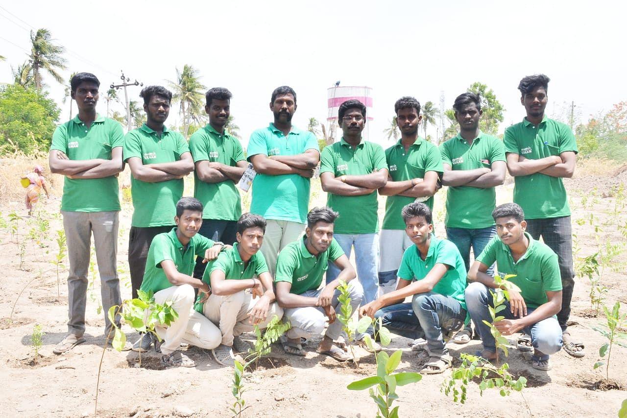 TN Man tree plantation