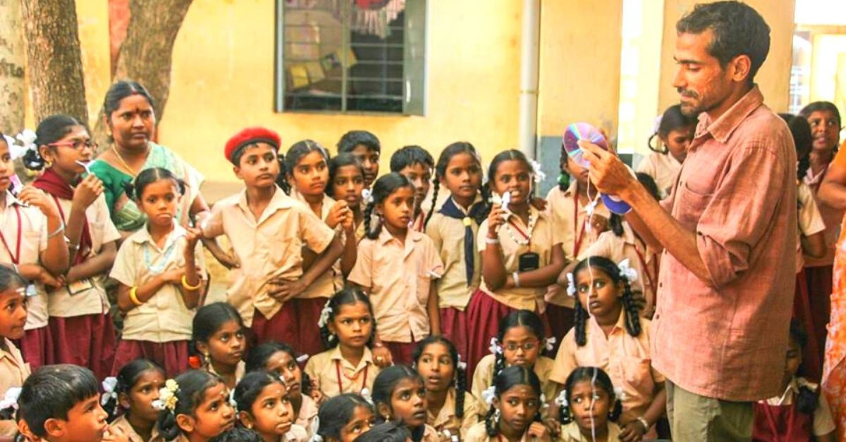 IIT Engineer Switches Career, Upcycles Waste Into Toys to Teach 'Ahimsa' to Kids!