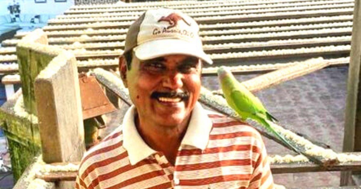 'Birdman' of Chennai Donates 40% of His Salary to Feed 8,000+ Parakeets!