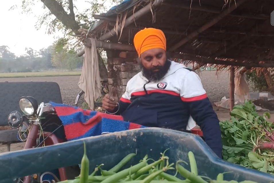 punjab organic farmer on wheelchair inspiring specially abled india jov30