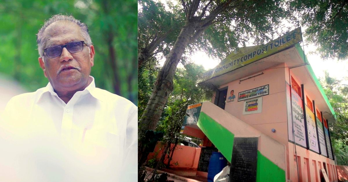 70-YO Trichy Man Helps Install 1 Lakh Water-Less Toilets, Provides Manure For Free