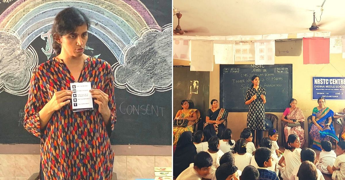This Gritty Chennai Woman Has Given 'Saahas' to 8000 Survivors of Sexual Violence