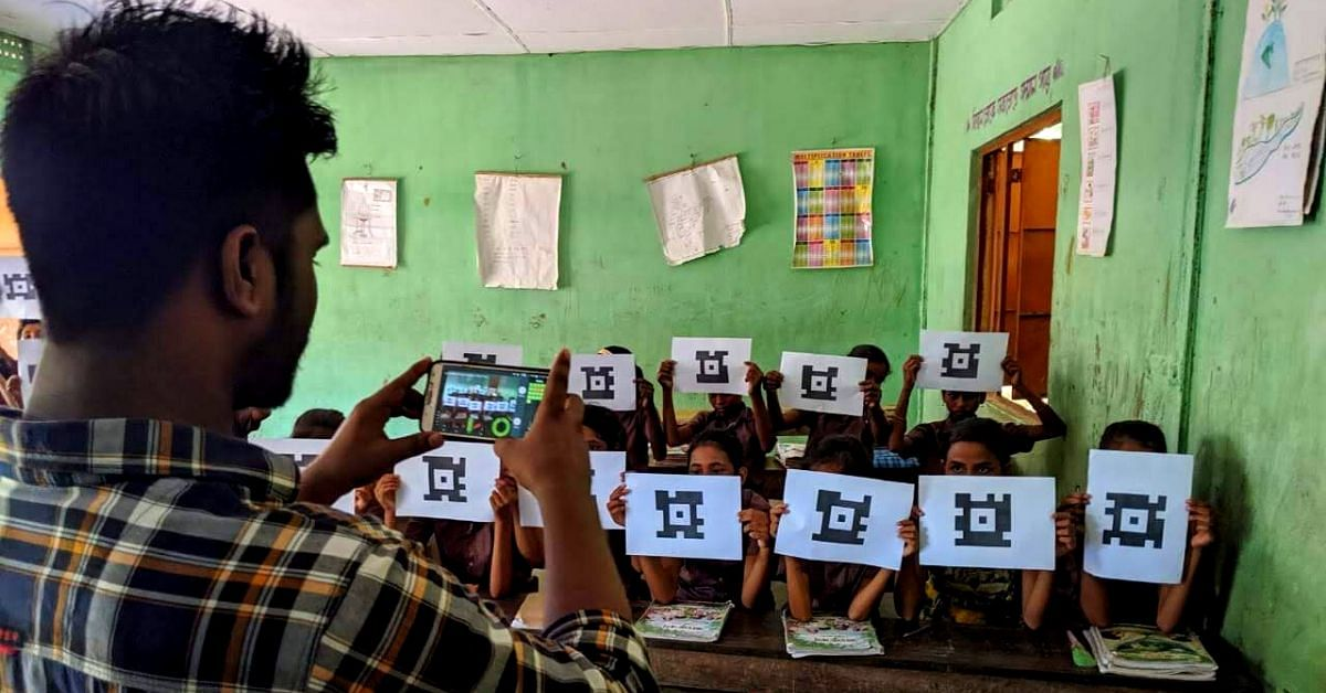 3 Techies, 2 Lakh+ Kids: How Phones & Unique Cards are Helping Students Learn Better