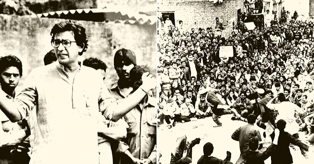 Street Theatre That Changed India: This Man Gave His Life To Stand Up For What's Right