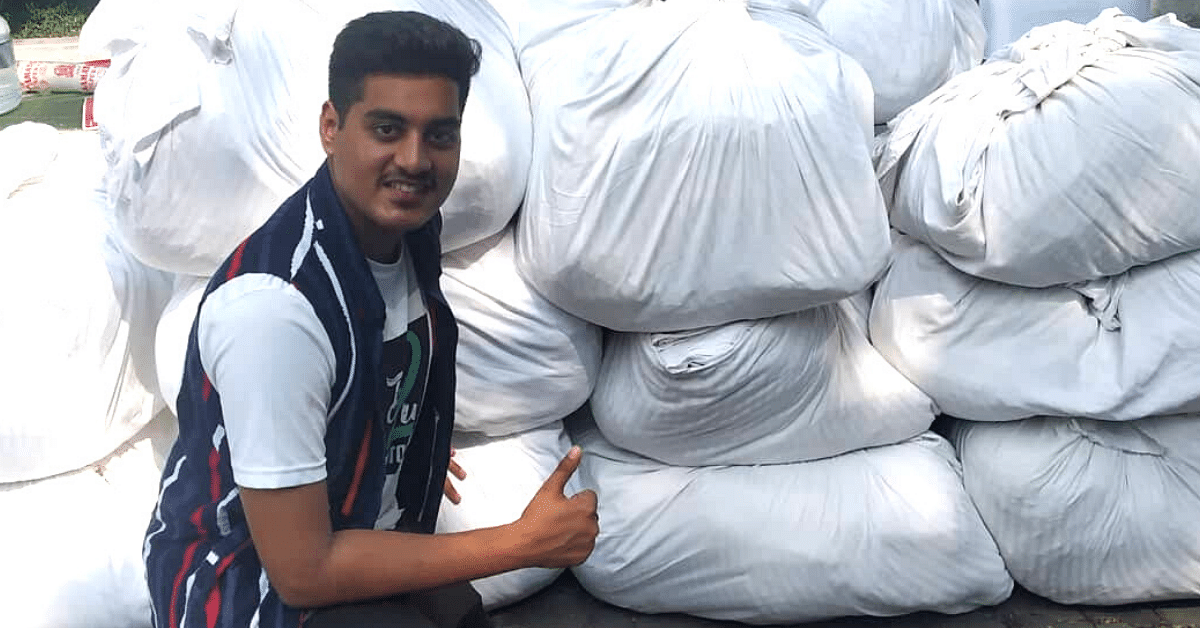 Chennai Teens Convert Old Bedsheets, Distribute 1 Lakh Cloth Bags For Free