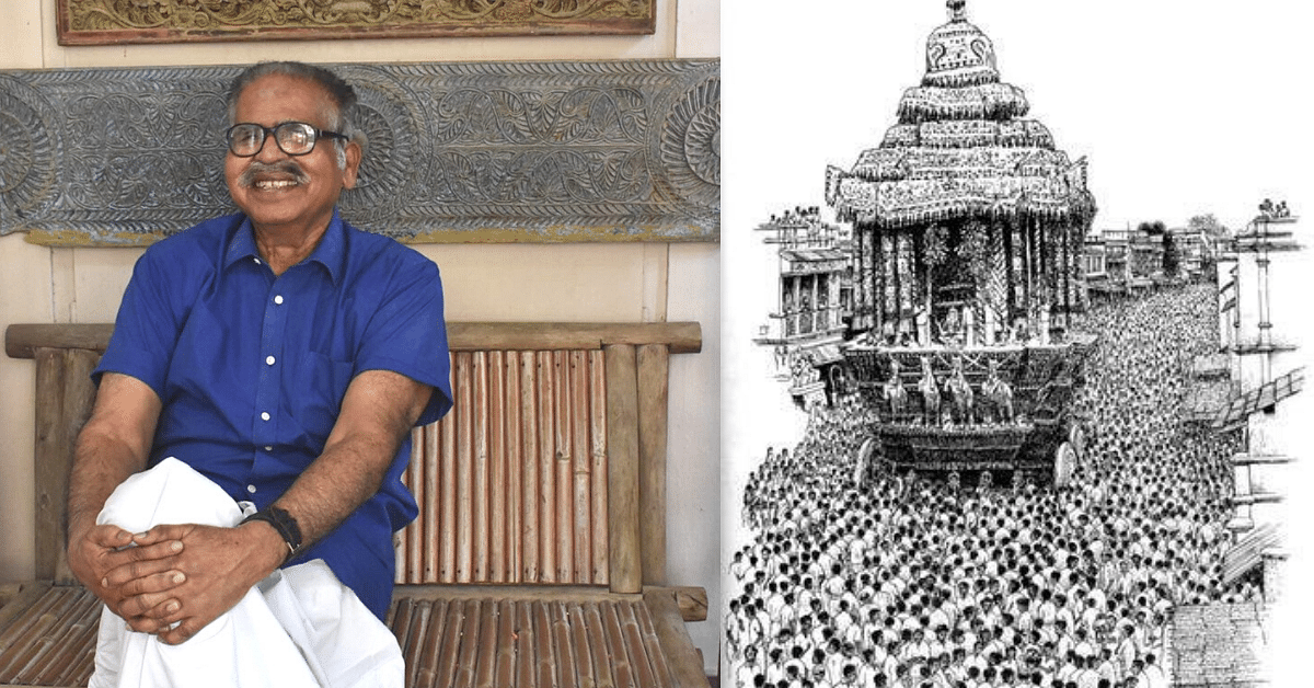 Manohar Devadoss, the Padma-Winning Legend Who Lost His Eye-Sight But Not the Art Within Him