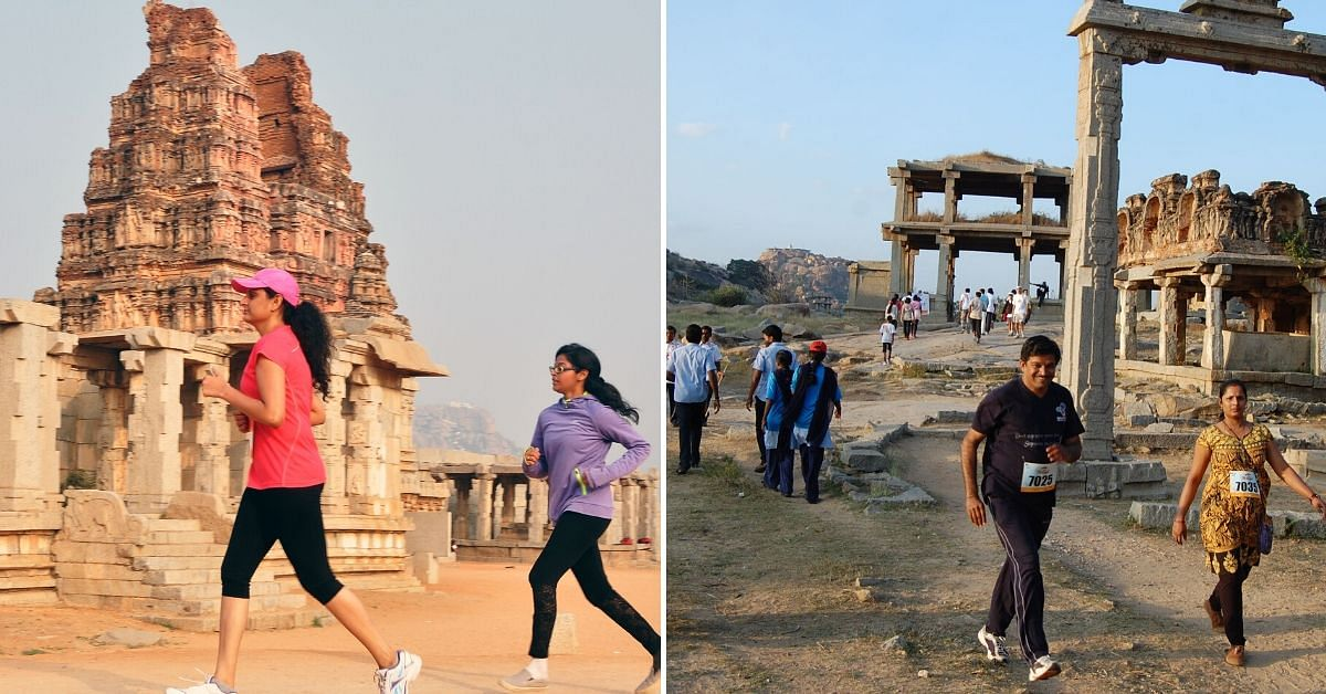 Explore History, Mythology & Culture With the 'Go Heritage Run' in Hampi!