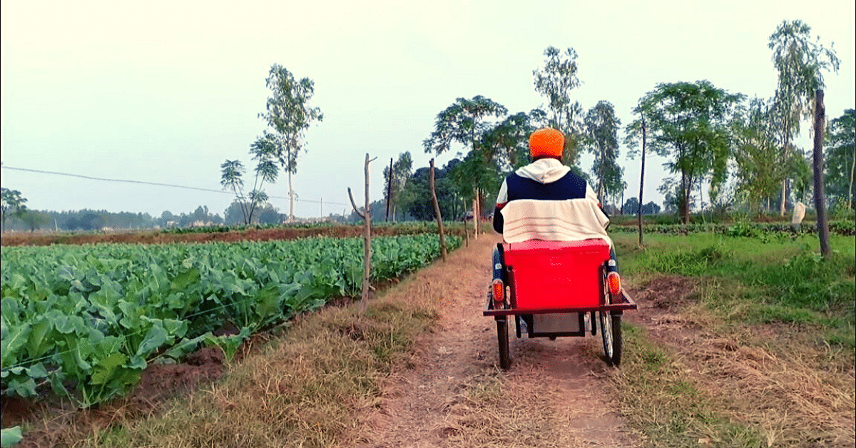 'The Accident Snatched My Ability to Walk, Not My Spirit': Punjab's Organic Farmer-On-Wheels