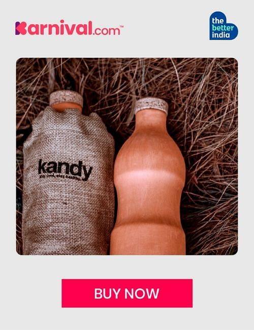 Kandy clay bottle