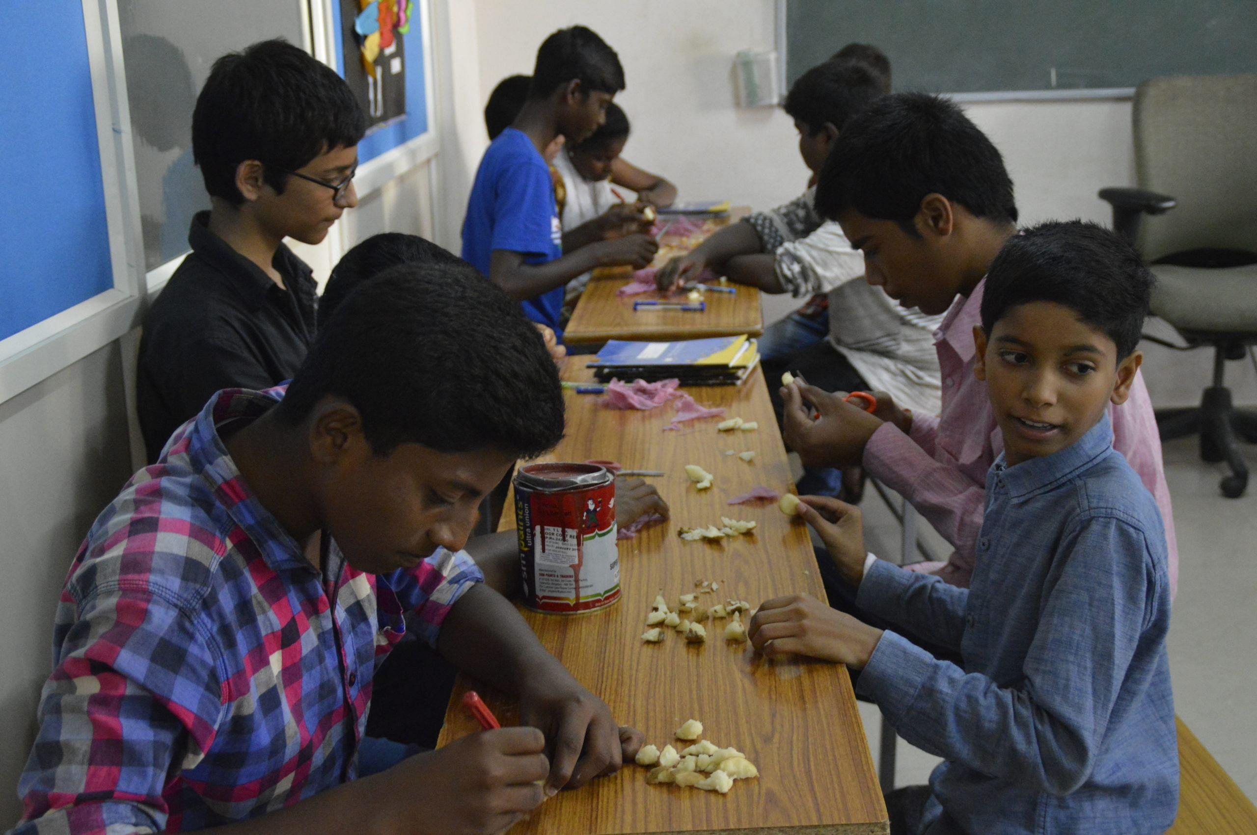 Bengaluru woman quit job ngo underprivileged children education india jov30