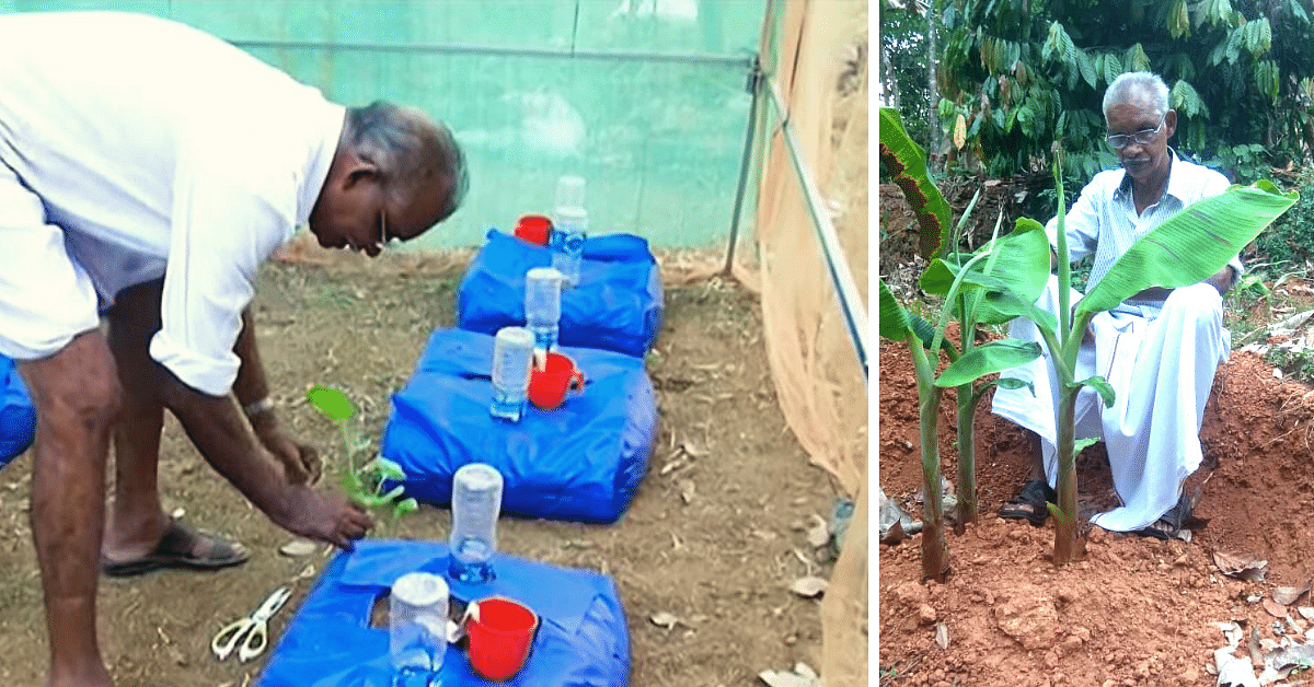 Kerala Farmer Invents New & Improved Grow Bag That Waters Itself! Here's How