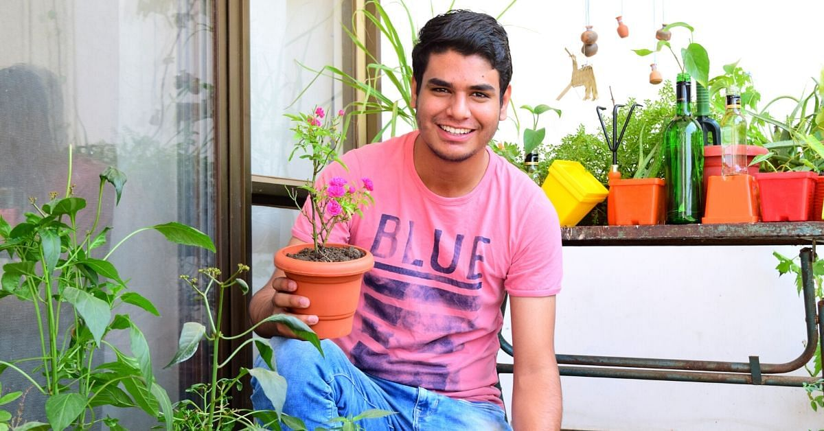 Here's How a 19-YO is Turning Bhopal's Concrete Jungles into Green Paradises!