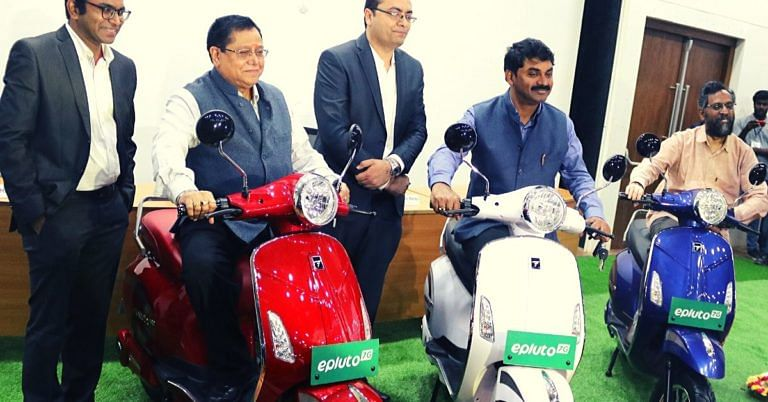 Hyderabad Startup's High-Speed Electric Scooter Refuels For Just Rs 17!