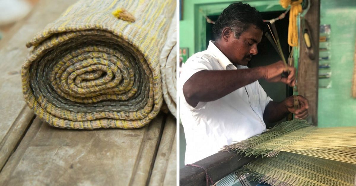 Made of Ayurvedic Herbs, Here's How This Hand Woven Yoga Mat Beats All Plastic