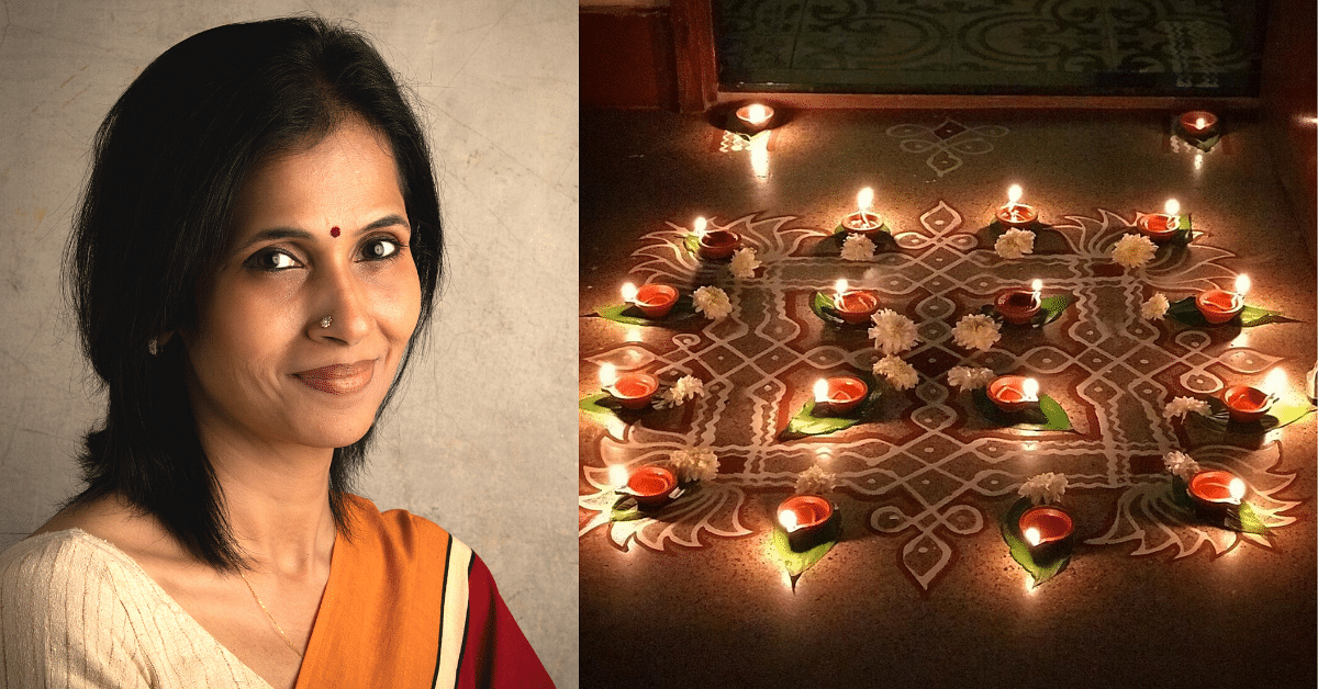 How Kolams Changed This 40-YO Chennai Designer's Life After a Massive Burnout