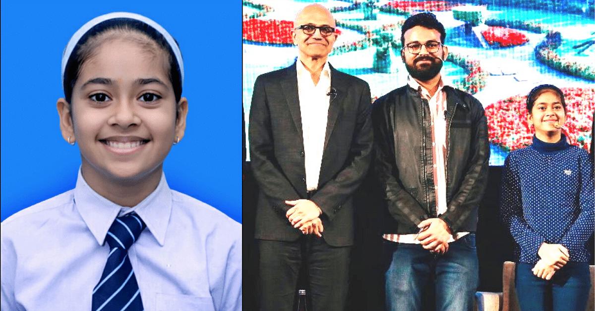 Meet Namya Joshi, the 13-YO Whiz Kid Who Left Satya Nadella Impressed!