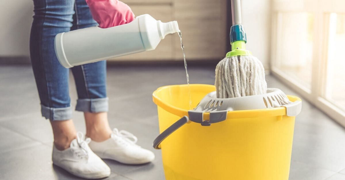 Washed Dishes, Mopped Floor? They Aren't Completely Clean Yet