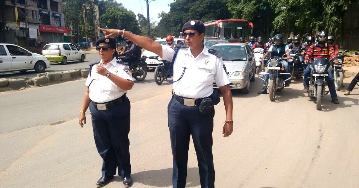 From A Mother To A Sexagenarian Man: Meet Bengaluru's Unsung Traffic Volunteers